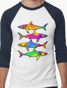 Colorful Sharks T-Shirt