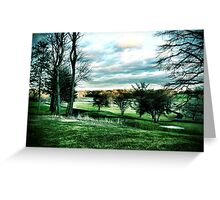 Ominous Clouds by Galloping Hill Greeting Card