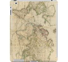Vintage Map of The World (1800) iPad Case/Skin