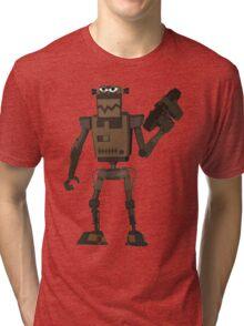Grinder Kill Bot Tri-blend T-Shirt