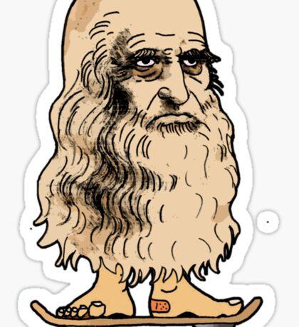 Leonardo Skateboard Sticker