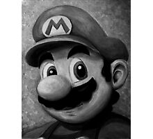 Portrait of an Italian Plumber Photographic Print