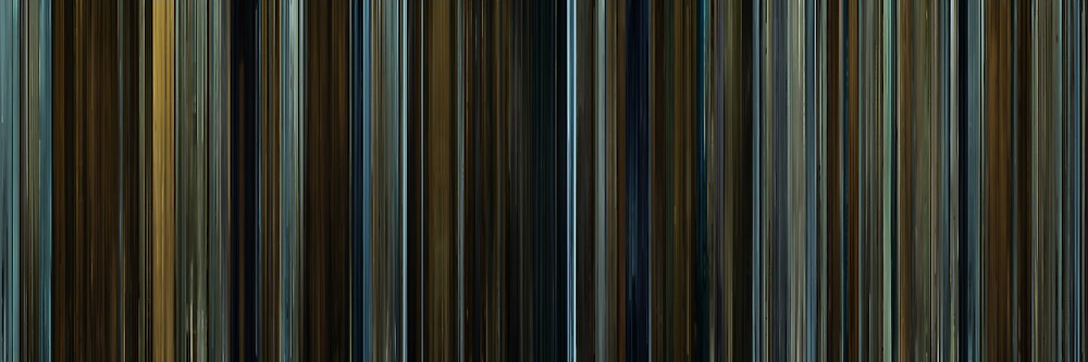 Moviebarcode: The Curious Case of Benjamin Button (2008) by moviebarcode