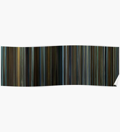 Moviebarcode: The Curious Case of Benjamin Button (2008) Poster
