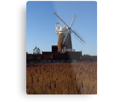 Cley Windmill, Norfolk Metal Print