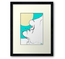 what s on the sky Framed Print