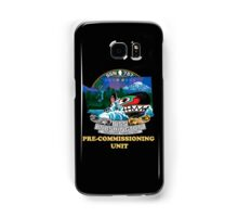 SSN-787 Pre-commissioning Unit Crest for Dark Colors Samsung Galaxy Case/Skin