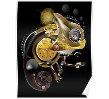 Clockwork Chameleon Poster