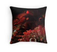 Snooted Hermit Crab Throw Pillow