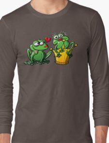 Princess is a Frog Now Long Sleeve T-Shirt