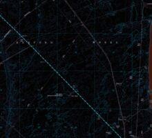 USGS Topo Map Washington State WA Wooden Island 244781 1978 24000 Inverted Sticker