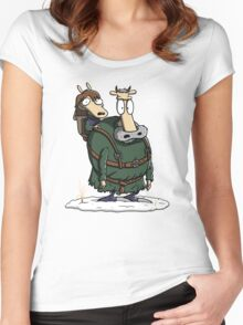 Bran's Modern Life Women's Fitted Scoop T-Shirt