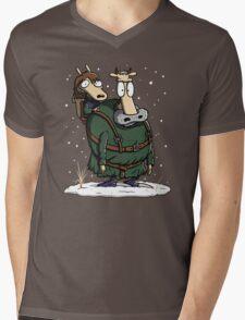 Bran's Modern Life Mens V-Neck T-Shirt