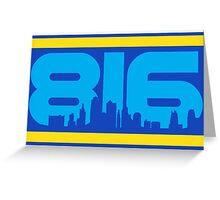 KC Royals: 816 Greeting Card