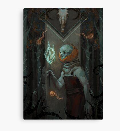 Jack O Lantern Canvas Print