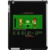 Maniac IT Department iPad Case/Skin