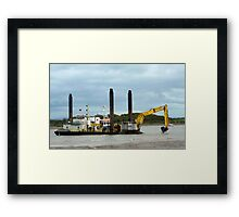 The Manu Pekka  Framed Print