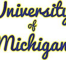 U of Michigan by SLEV