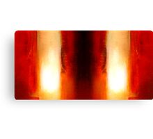 Abstract Colors Oil Paintings #81 Canvas Print