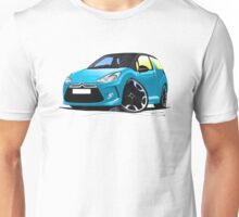 Citroen DS3 Blue (Black) Unisex T-Shirt