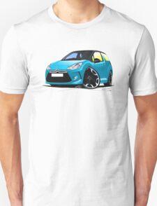 Citroen DS3 Blue (Black) T-Shirt