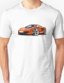 McLaren MP4-12c Volcano Orange T-Shirt