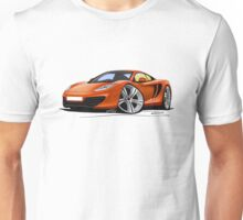McLaren MP4-12c Volcano Orange Unisex T-Shirt