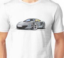 McLaren MP4-12c Silver Unisex T-Shirt