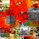 Abstract Colors Oil Painting #80 by Fred Seghetti