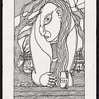 drunk woman by Ronan Crowley