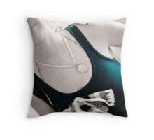 Courtney cool Throw Pillow
