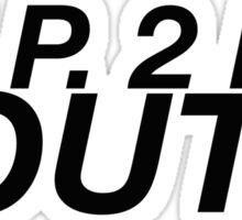 R.I.P. 2 MY YOUTH Sticker