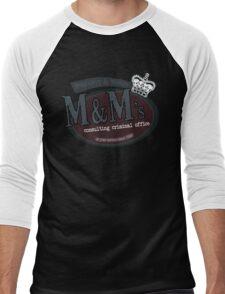 M&M's consulting criminal office Men's Baseball ¾ T-Shirt