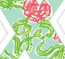 Chi AXO Lilly Sticker
