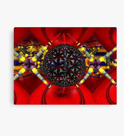 M3D:  Dilithium Crystal Reactor Chamber (UF0608) Canvas Print