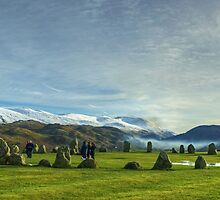 Stone Circle At Castlerigg by Jamie  Green