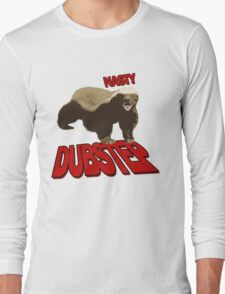 Honey badger dont give a sh*t Long Sleeve T-Shirt