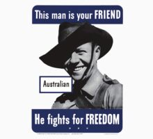 World War II Poster - US/Australian  by docdoran