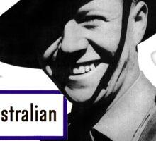 World War II Poster - US/Australian  Sticker