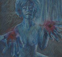 Ghostly Stigmata by Kyleacharisse