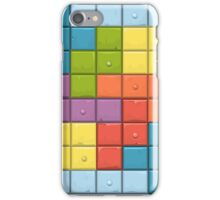 Tetris Boxes iPhone Case/Skin