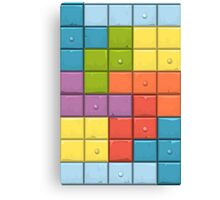 Tetris Boxes Canvas Print