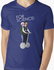 Joyride For Science Mens V-Neck T-Shirt