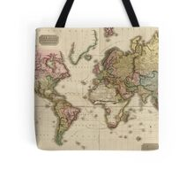 World Map (1812) Tote Bag