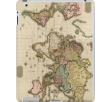 World Map (1812) iPad Case/Skin