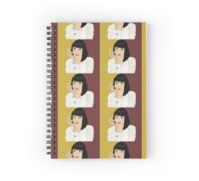 Mia Wallace  Spiral Notebook