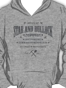 Office of Star and Bullock, Deadwood T-Shirt