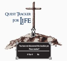 Quest Tracker for Life (Need directions?) T-Shirt