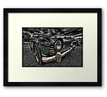 Triumph TR5 Framed Print