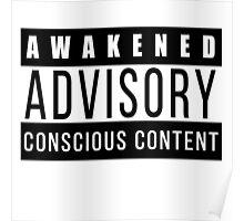 Awakened Advisory Conscious Content Poster